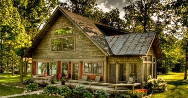 Creative log cabin design