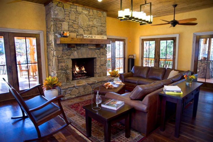 Retreat home living room