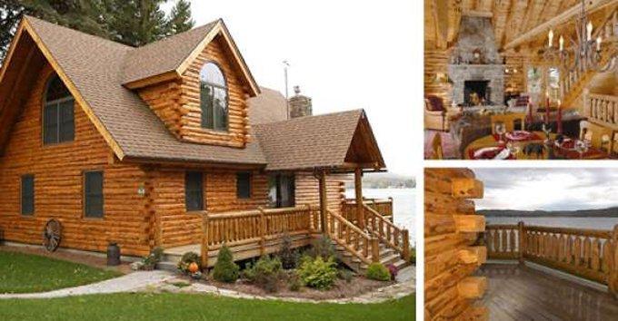 Inspiring log home