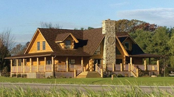 Sweetwater log home