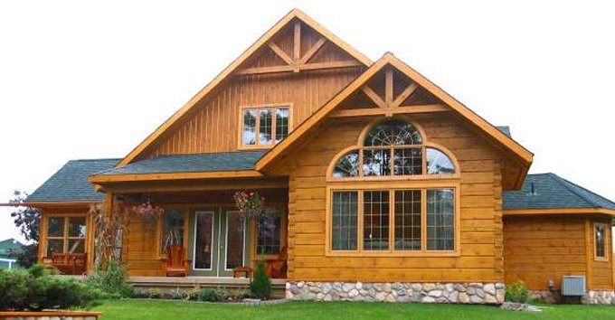Custom Log Home Design - Log Homes Lifestyle