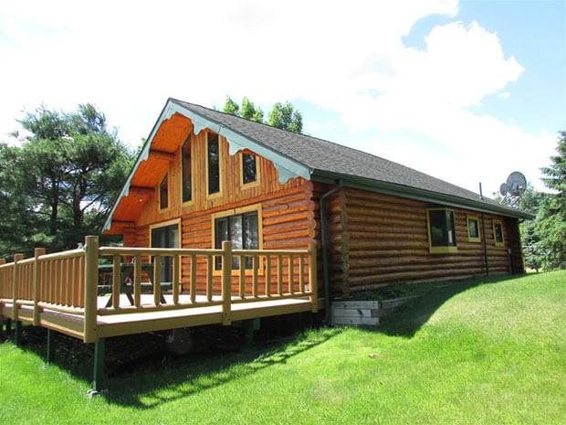 Natural log home
