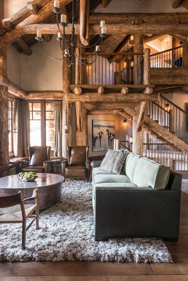 Cedarview cabin interior