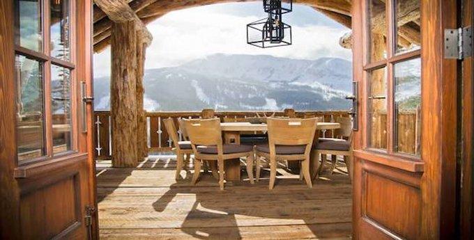 Cedarview cabin in Montana
