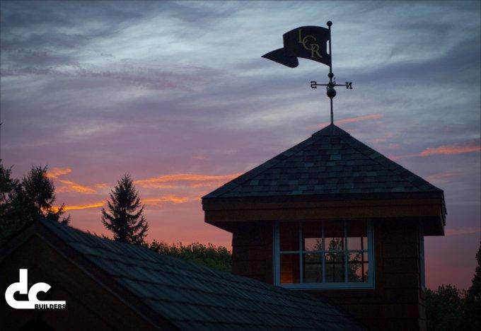 Barn home rooftop