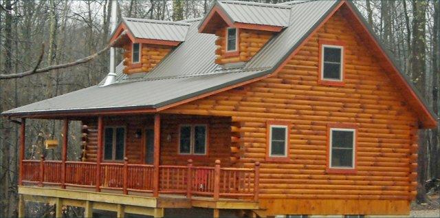 Supreme log cabin