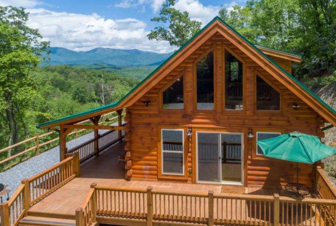 Rental log cabin