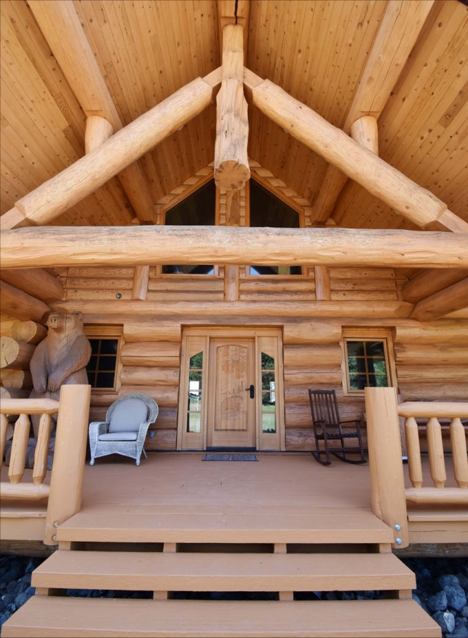 Log home Timber Kings