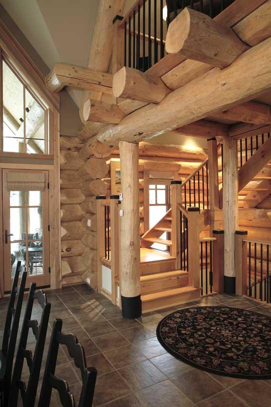 Moose Mountain log cabin