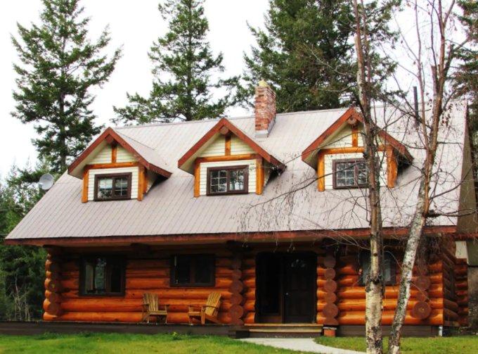 Log home getaway