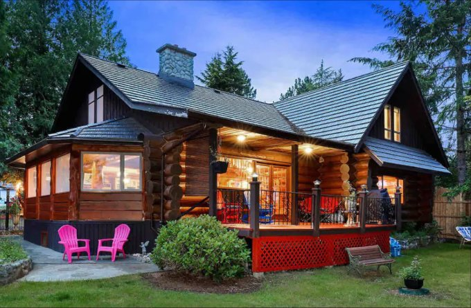 Log house