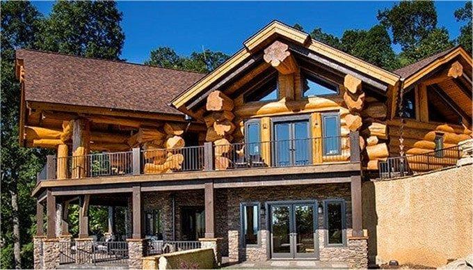 Black Mountain log home
