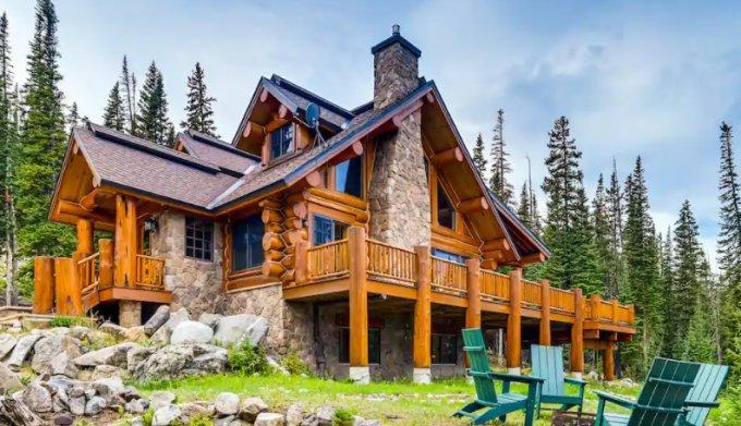 Log house in Breckenridge