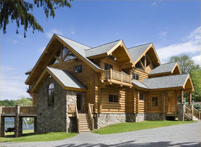 Huntingdon log home