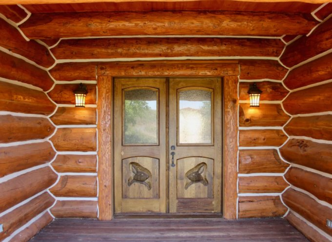 Bunny Lodge entrance