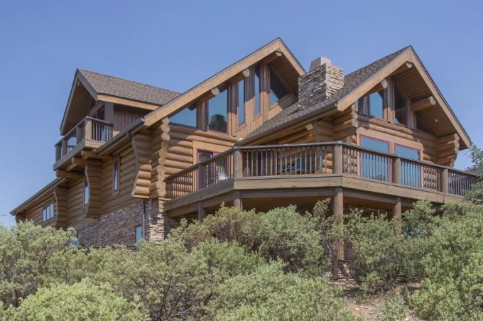 Log home in Arizona