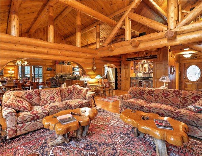 Log home rental