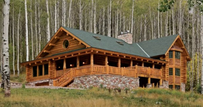 Log home in CO