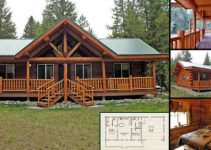 Beautiful log home design with floor plans log homes for Ranch style home kits