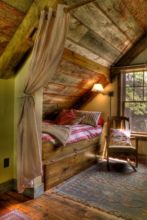 Как сделать комнату дерево на чердакеФото  Столярный блог