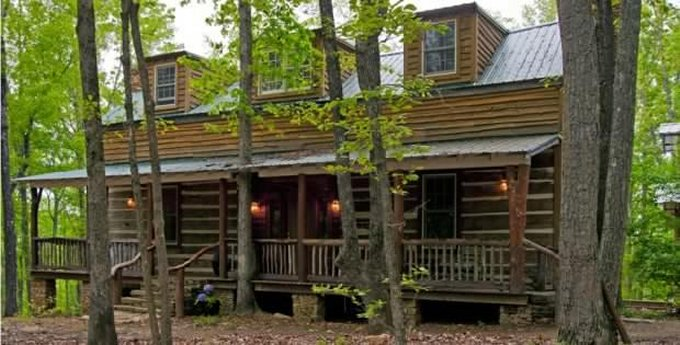 Old style hand hewn log home restored log homes lifestyle for Hewn log cabin kits
