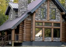 BC log home