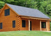 New log cabin