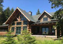 Charming log home