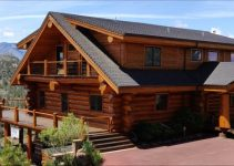 Beautiful log home
