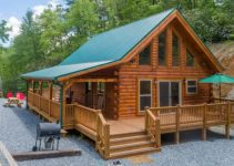 Rental log cabin