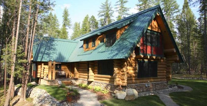 Moose Mountain log cabin