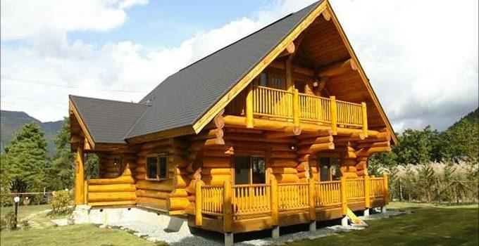 Cozy log home