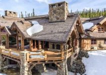 Log home estate