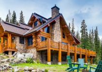 Log house in Breckenridge