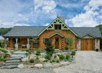 Silver Ranch log home