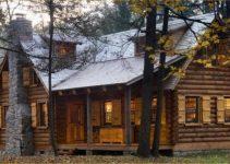 Clearfield log cabin