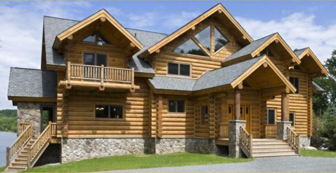 Huntingdon log home