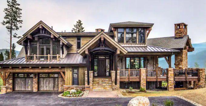 Timber frame lodge