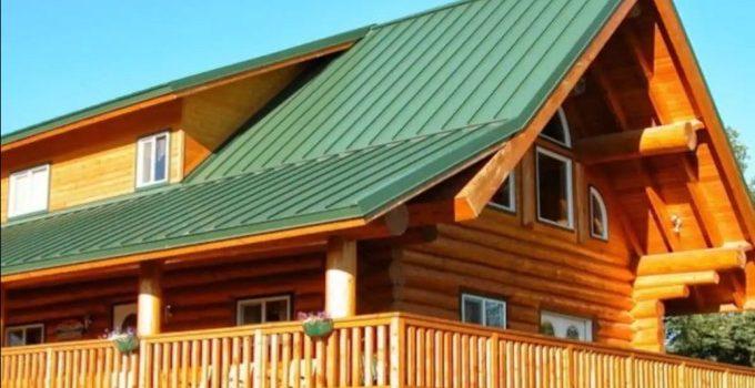 Log Home In Alaska