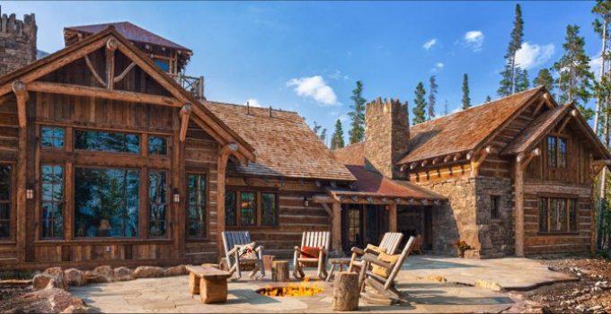 Big Sky log home