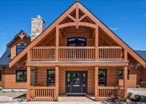 Log home at Canyon Lake